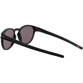 Oakley Latch Okulary przeciwsłoneczne Kobiety, matte black/prizm grey